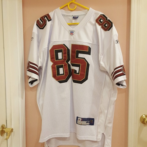 new product ea859 b82b9 Davis #85 San Francisco 49ers On field Jersey